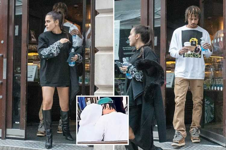 Dele Alli spotted at restaurant with Man City boss Pep Guardiola's daughter Maria months after rooftop bar snog