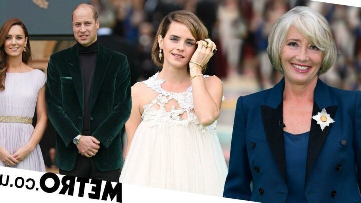 Emma Watson leads stars in recycled outfits at Earthshot Prize ceremony