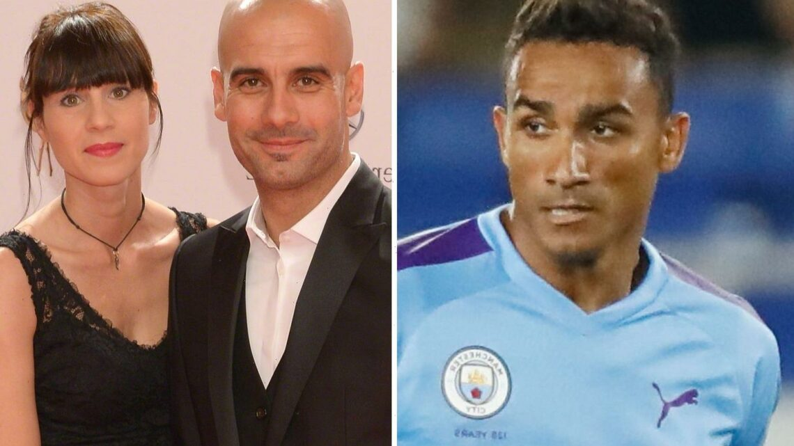 Ex-Man City star Danilo says 'obsessed' Pep Guardiola 'puts his wife on the couch as if she were a player on the pitch'