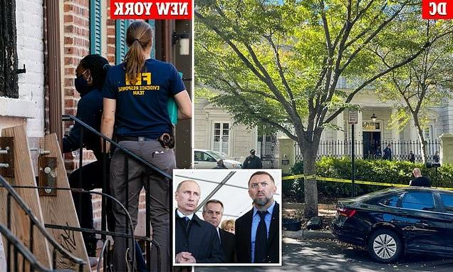 FBI raids $15million US homes linked to Putin ally Oleg Deripaska