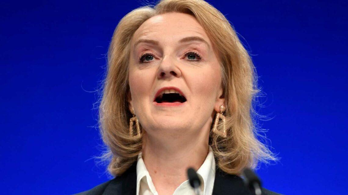 Foreign Secretary Liz Truss reels off long list of Britain's closest allies – but overlooks Brussels