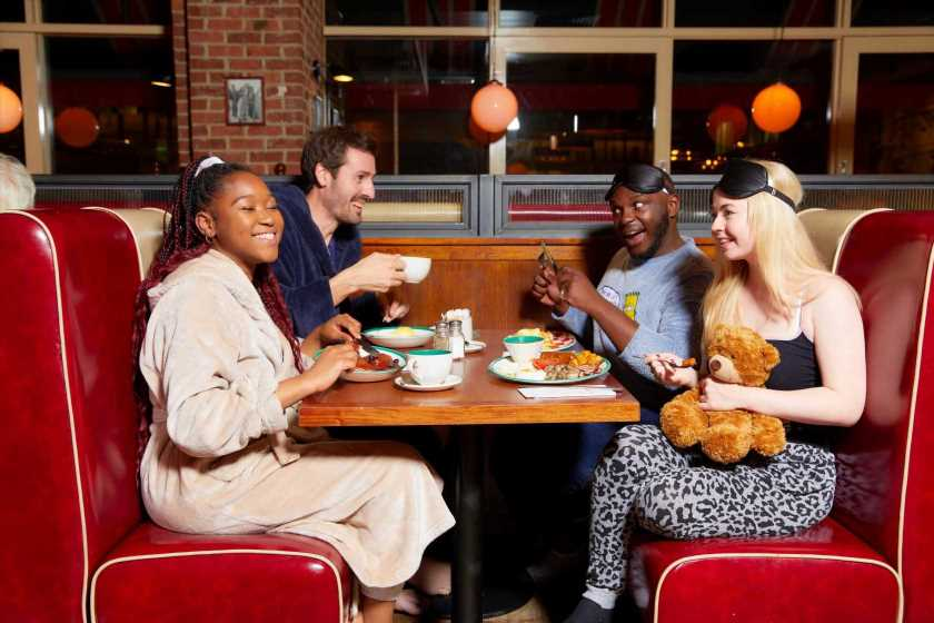 Frankie and Benny's is giving away free breakfasts worth £10 if you dine in your PYJAMAS