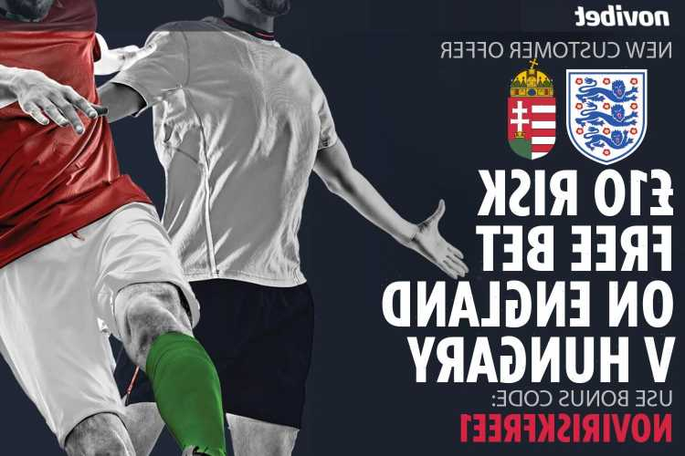 Get £10 risk FREE BET on England vs Hungary World Cup qualifier with Novibet special offer
