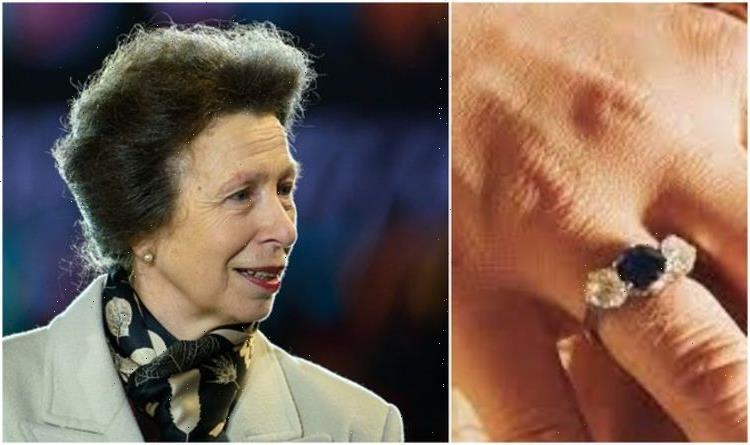 'Hardworking and honest': Princess Anne's two engagement rings' subtle connection