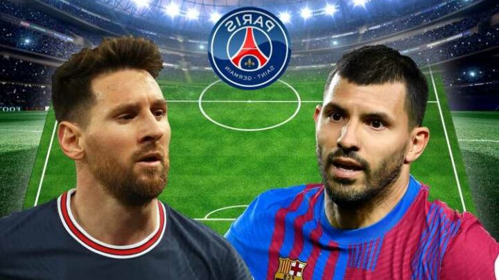 How PSG could line up with Aguero joining Messi, Mbappe and Neymar as he is linked with shock swap transfer