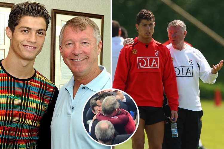 Inside Cristiano Ronaldo's special bond with Sir Alex Ferguson, from winning Ballon d'Or five times to return to Man Utd – The Sun