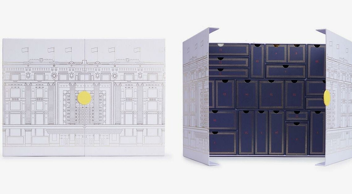 Inside the £210 Selfridges Beauty Advent Calendar with contents worth over £700