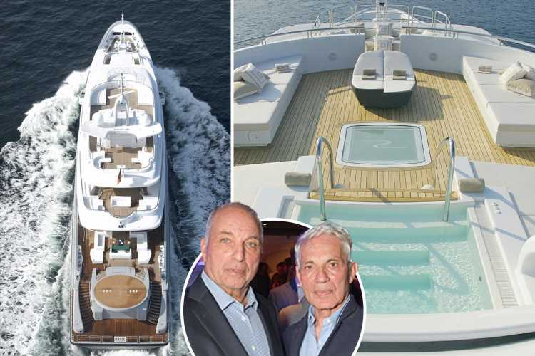 Inside the amazing yacht of the Reuben brothers, who are worth £21.5bn, and part of the Newcastle United takeover