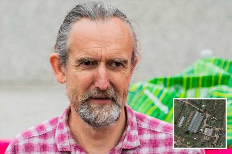 Insulate Britain founder Roger Hallam 'hoards SIX gas guzzling diesel vehicles' on farm as neighbours blast 'hypocrite'