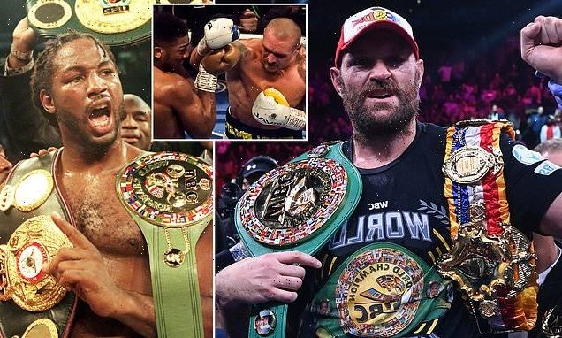 JEFF POWELL: Lewis edges Fury as the greatest British heavyweight
