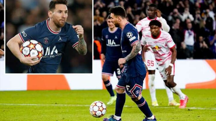Lionel Messi scores two in PSG win including epic Panenka – but denied hat-trick by Mbappe who takes late pen and MISSES