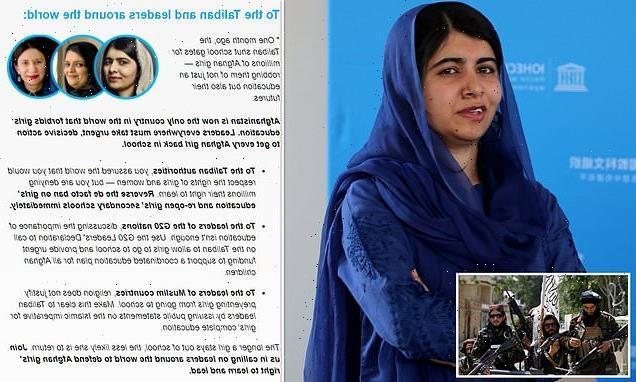 Malala demands Taliban lets girls go back to school in open letter