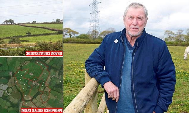 Midsomer Murder's John Nettles joins calls to scrap Devon solar farm
