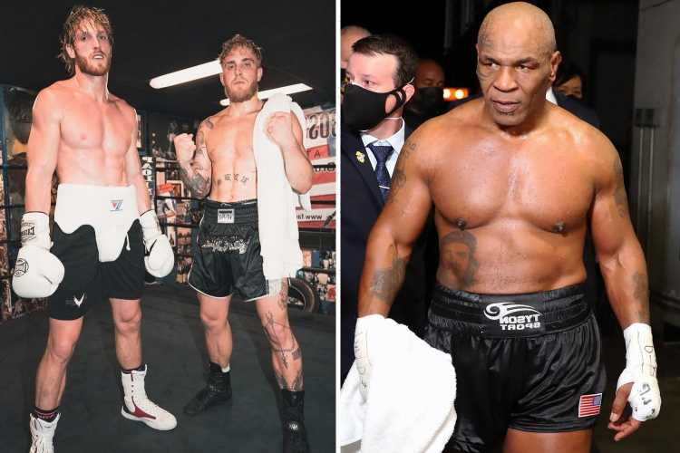 Mike Tyson offers to fight Logan and Jake Paul and reckons YouTubers could be tempted by $100m offer