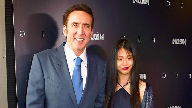 Nicolas Cage, 57, & Wife Riko Shibata, 26, Hold Each Other Close As They Embrace On Magazine Cover