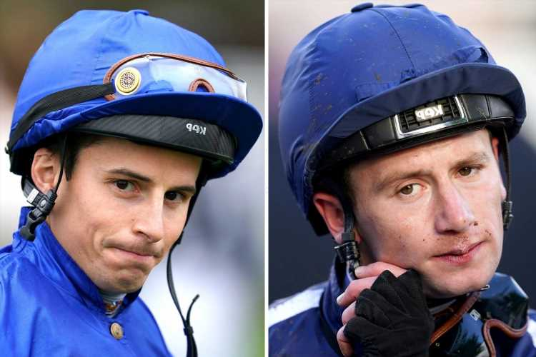 Oisin Murphy vs William Buick: Jockeys' booked rides and results in epic title fight