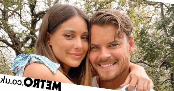 Pregnant Louise Thompson and family involved in 'bad house fire'
