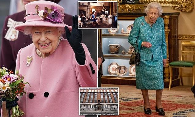 Queen's late-night TV habit has left her 'knackered' royal aides say