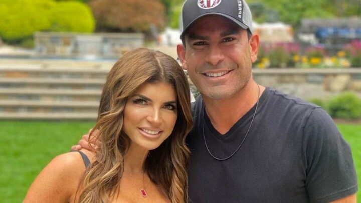 Teresa Giudice and Luis Ruelas Engaged in Fireworks-Illuminated Proposal