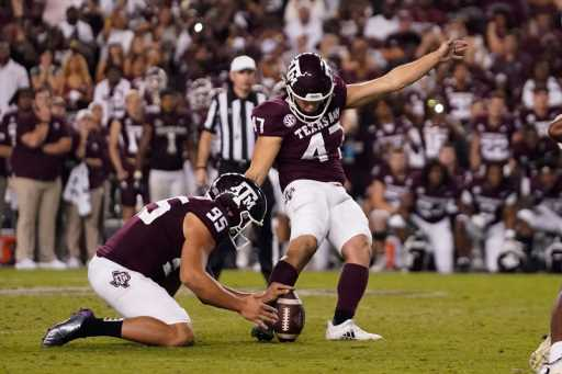 Texas A&M beats No. 1 Alabama 41-38 on last-play field goal – The Denver Post