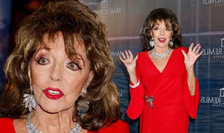 'Thought, f*** this!' Joan Collins addresses backlash that saw her quit Twitter