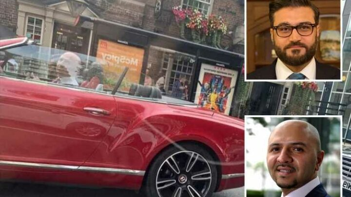 Two senior Afghan ministers drove around London in Bentley while country was on verge of falling to Taliban