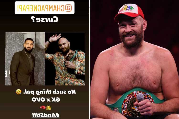 Tyson Fury rubbishes 'Drake curse' after rap superstar backed Gyspy King to beat Deontay Wilder in trilogy fight