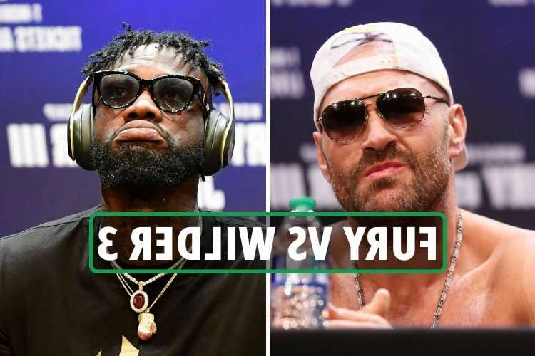 Tyson Fury vs Deontay Wilder 3: Date, UK start time, live stream, TV channel, undercard for heavyweight trilogy fight