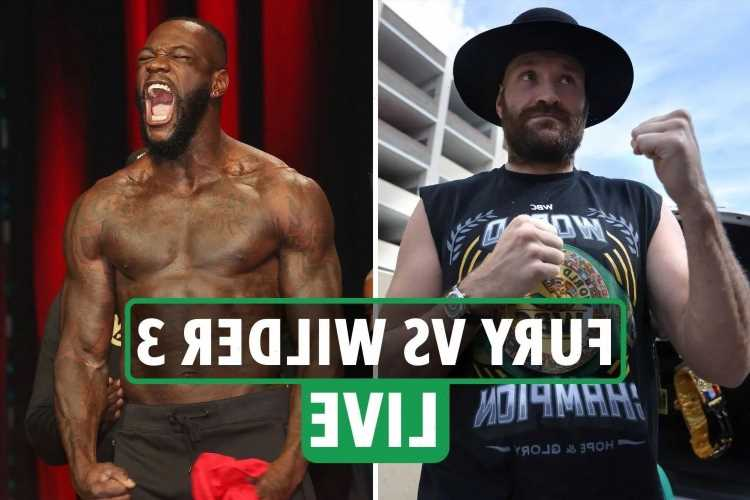 Tyson Fury vs Deontay Wilder 3: Start time UK, live stream, TV channel, odds, predictions, weights for TONIGHT'S fight