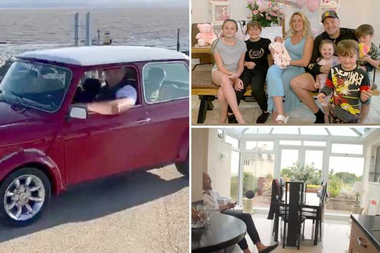 Tyson Fury's humble £10k lifestyle from £550k Morecambe home with Paris and kids to snubbing Ferraris for Transit vans