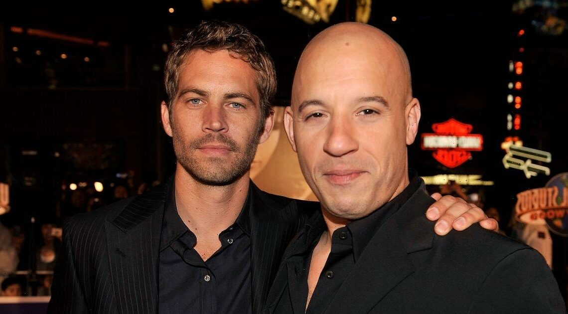 Vin Diesel shares touching tribute to Paul Walker as he walks late actor's daughter down the aisle